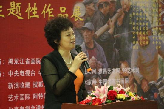 高庆荣油画作品展在上上国际美术馆开幕