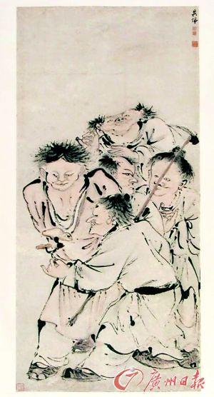 沈阳故宫展出院藏人物画