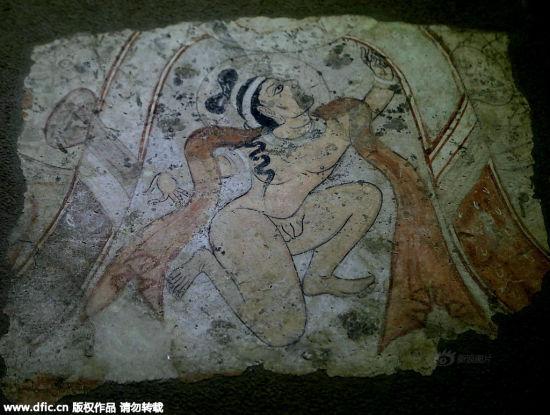 千年前裸体天神亮相陕历博:让人脸红的大尺度