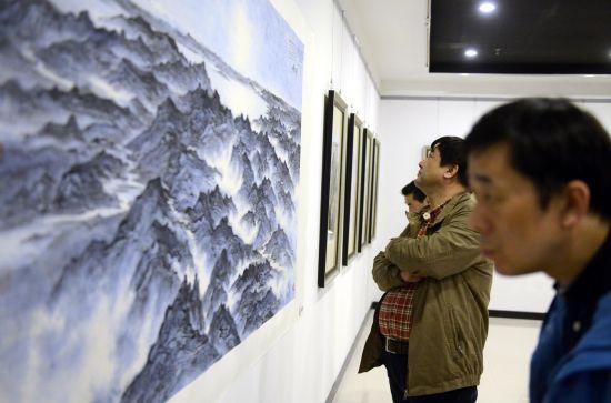 2015杨彦中国画展